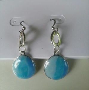 Epoxy Fishhook Earrings